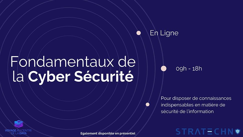 formation cyber sécurité