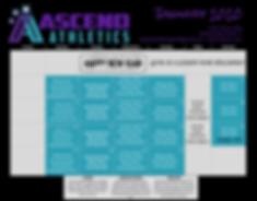 Ascend Athletics 2020 January Calendar.p