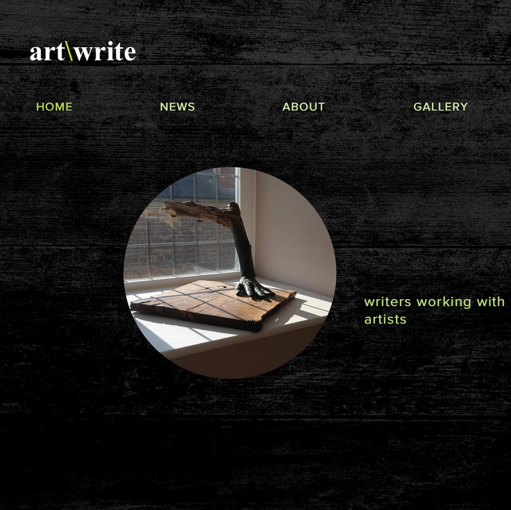 art\write | pairing artists with writers