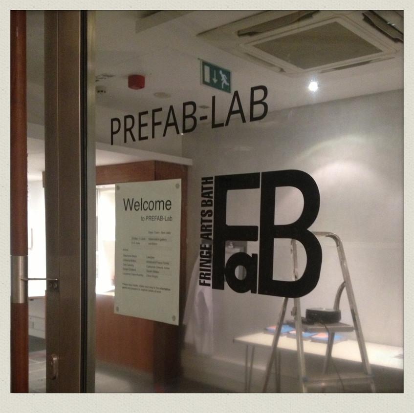 #PREFAB Lab @Milsom Place, Bath