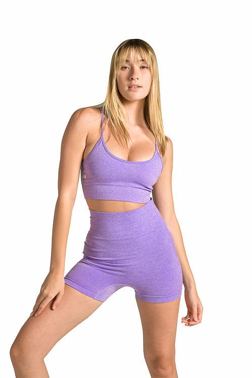 GYM BODY  Seamless Set in Lilac