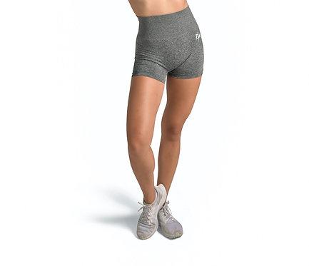GOAL GETTER Seamless Shorts in Black Marl