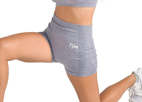 UNSTOPPABLE Seamless Shorts in Grey  Melange