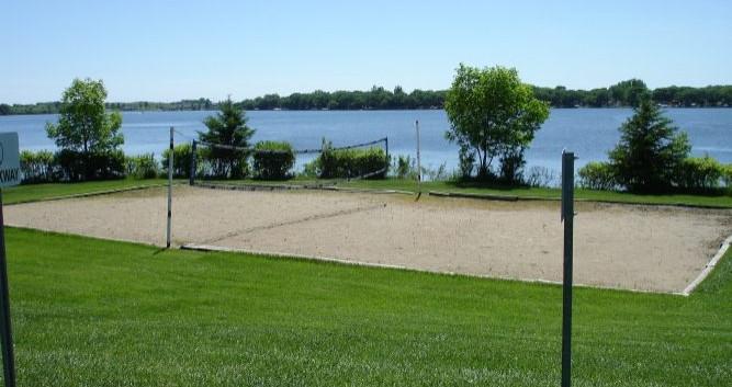 Pelican Ridge volleyball court
