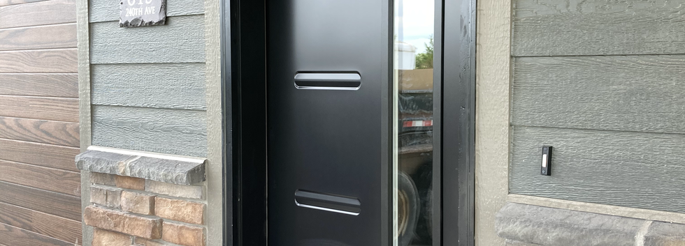 Stunning modern door