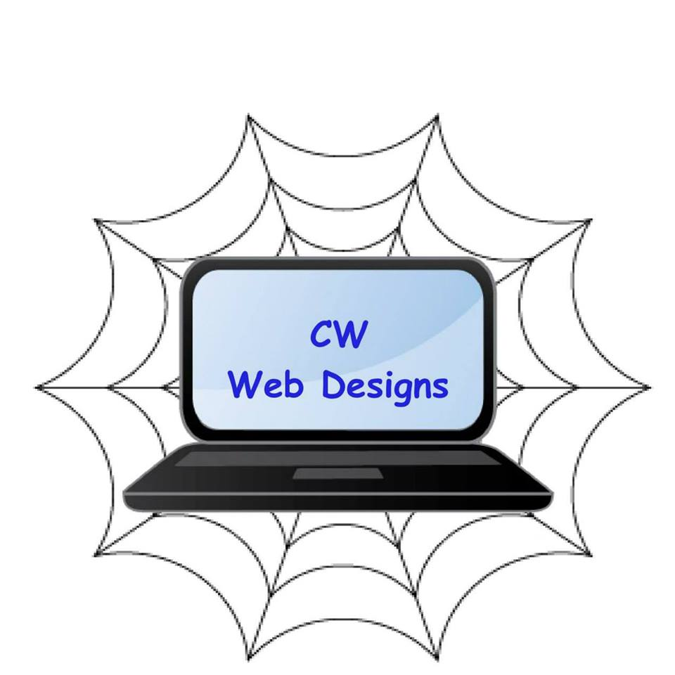 CW web designs logo