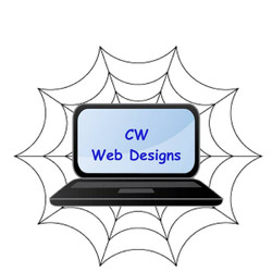 CW web designs logo