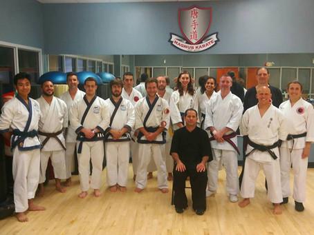 Tom Lugo Five Elements theory -Stances Seminar at Magnus Karate