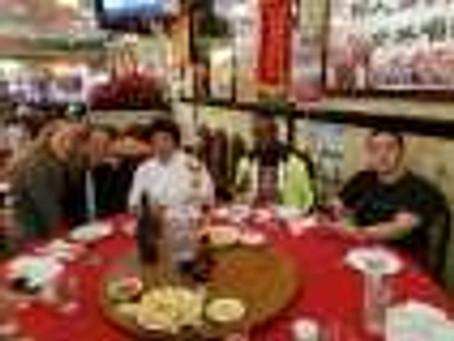 Dinner with the legendary Sifu Chui Chi Ling at Joy Tsin Lau