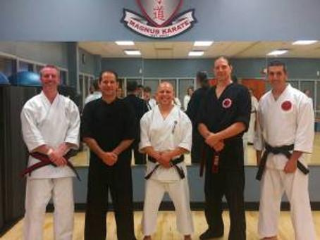 Five Elements theory Stances Seminar at Magnus Karate