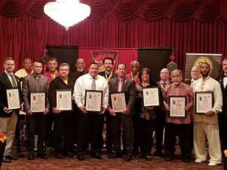 Society of Black Belts of America Induction