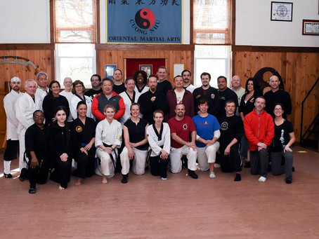 Universal Systems of Martial Arts-Waving Hands Like Clouds, Combat Workshop with special guest Micha