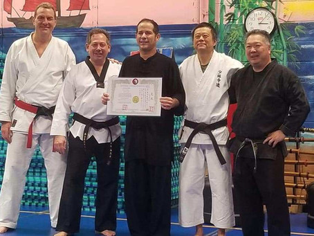 Annual Universal Systems of Martial Arts Organization Seminar- Sifu Tom Lugo's 3rd Degree Prom