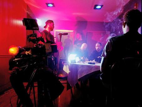 Sifu Tom Lugo on set on the action Movie: JUN