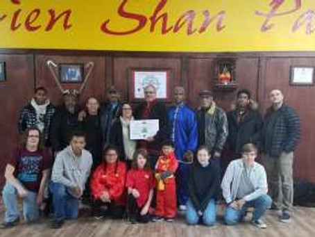 Sifu Jose Knight's 3rd Dan Promotion