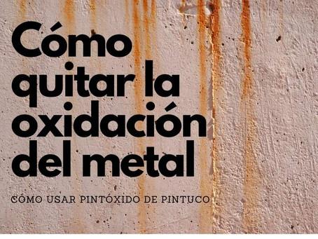 Cómo quitar óxido en metal en lugares difíciles