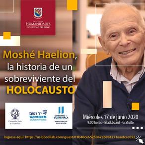 Sobreviviente del Holocausto comparte su historia con estudiantes de la universidad del Istmo
