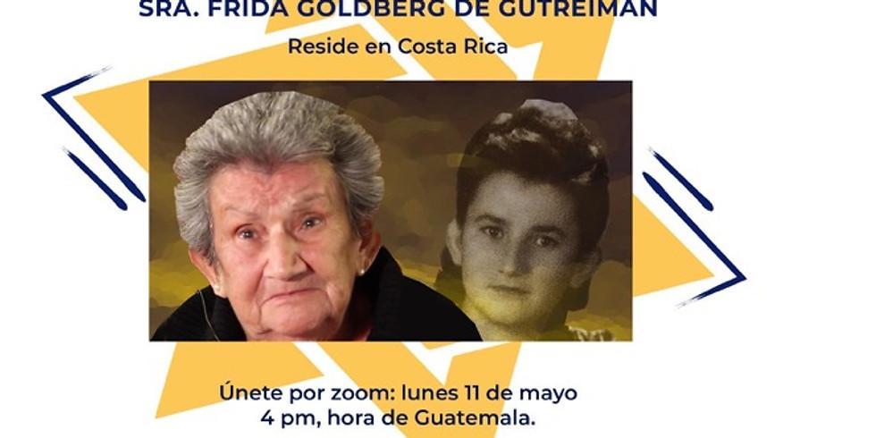 Testimonio de vida de la señora Frida de Gutreiman, sobreviviente del Holocausto