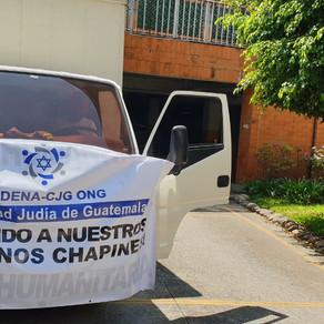 Comunidad Judía de Guatemala organiza donaciones para hospitales