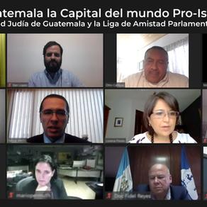 Charla Guatemala, la capital del mundo pro-Israel para la liga de amistad parlamentaria