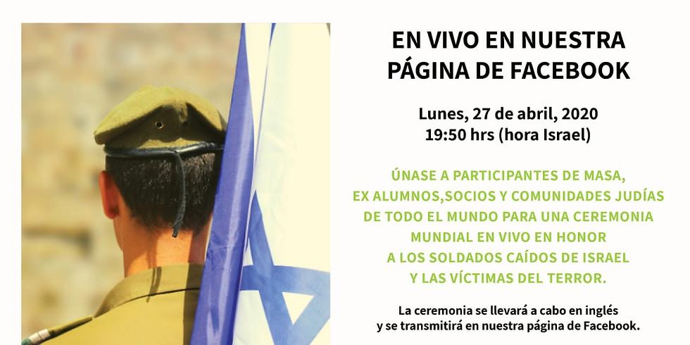 Conmemoración de Yom Hazikaron en Israel