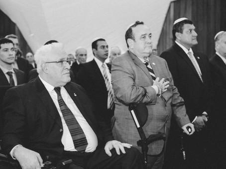Presidente Giammattei visita a la Comunidad Judía de Guatemala