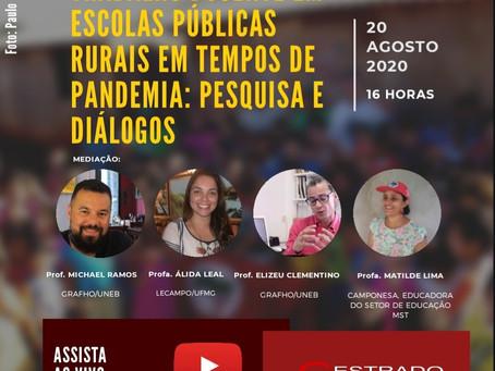 Trabalho docente em escolas públicas rurais em tempos de pandemia: pesquisa e diálogos