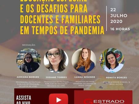Educação especial e os desafios para docentes e familiares em tempos de pandemia