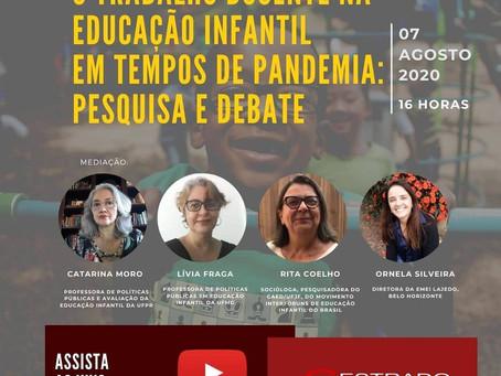 O trabalho docente na educação infantil em tempos de pandemia: pesquisa e debate