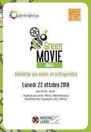 Locandina Green Movie Award 2018