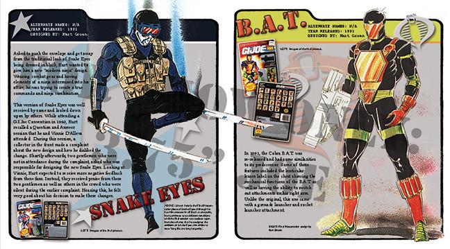 Snake Eyes (v3) and B.A.T. (v2)