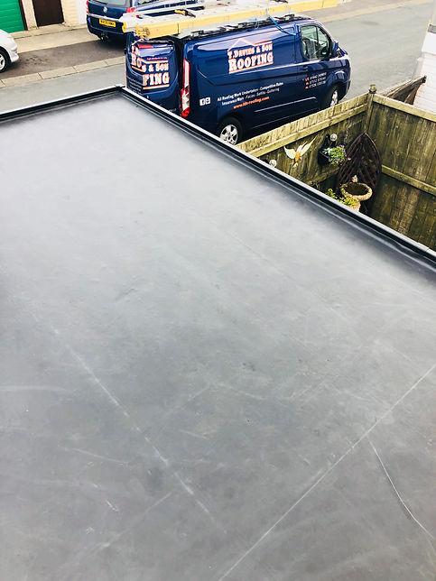 Rubber roofing.ALT