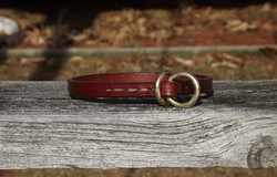 Hand Stitched Leather Training Collar