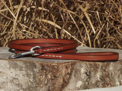 Golden Brown Hand Stitched Lead