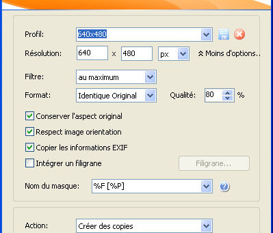 Renommer-redimensionner-données EXIF