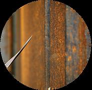 Rust effect