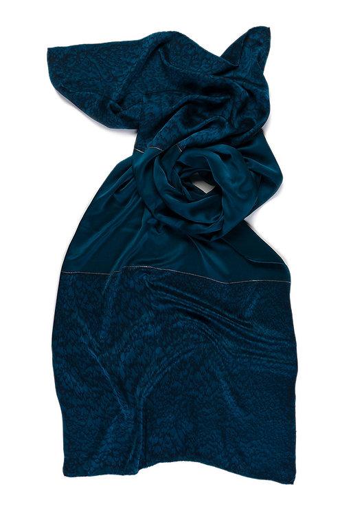 Classic Luxury Shawl Midnight Blue
