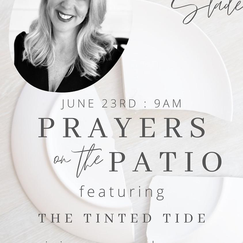 Prayers on the Patio & Broken Plate Craft