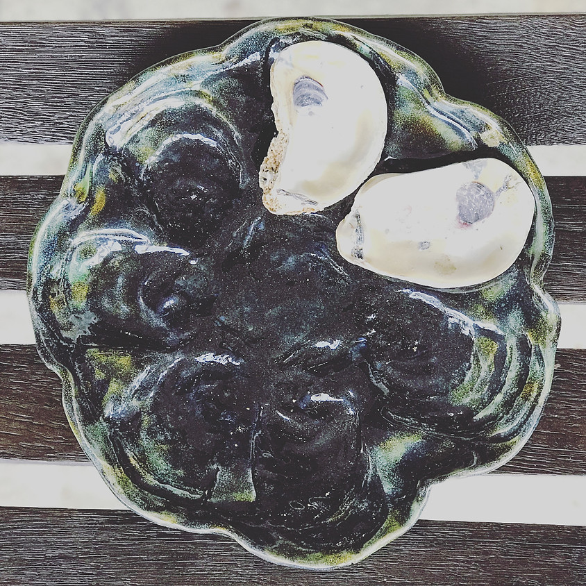 September Oyster Plate Clay Class