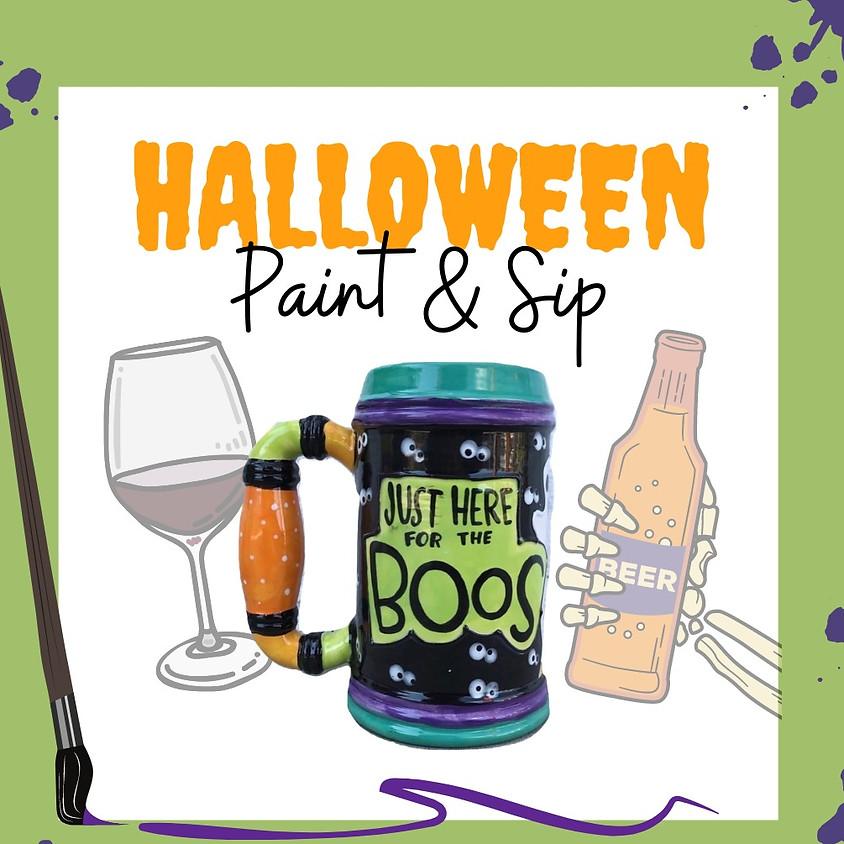 FLETC Halloween Paint N' Sip