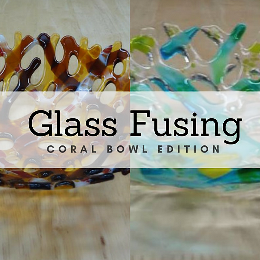 Coral Bowl Glass Class