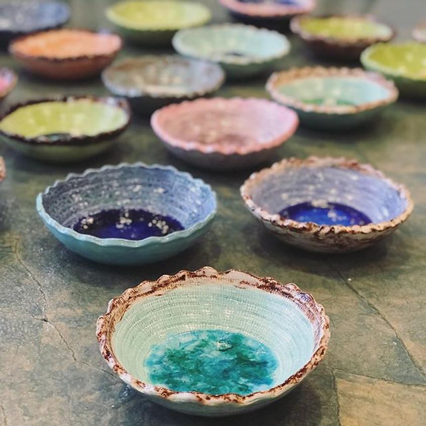 November Cerama-Glass Bowl Class