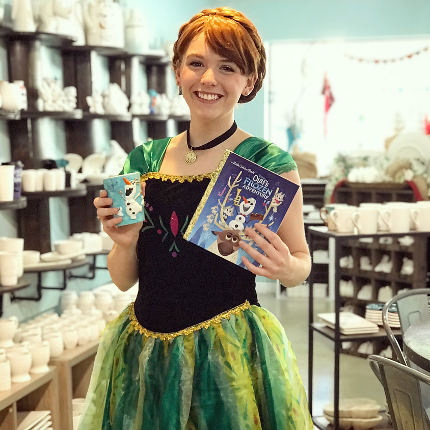 Paint with Princess Anna