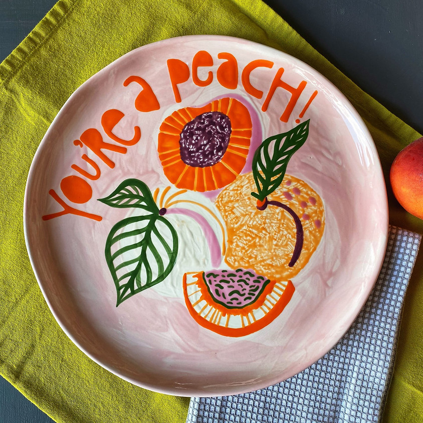 Paintin' Peaches Brunch @ Two Friends