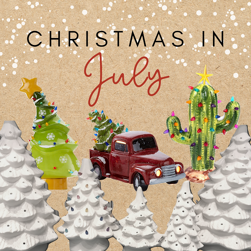 Christmas in July at The Tinted Tide