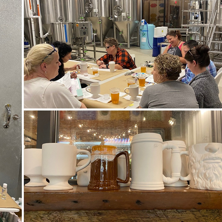 Paints & Pints with Silver Bluff Brewing