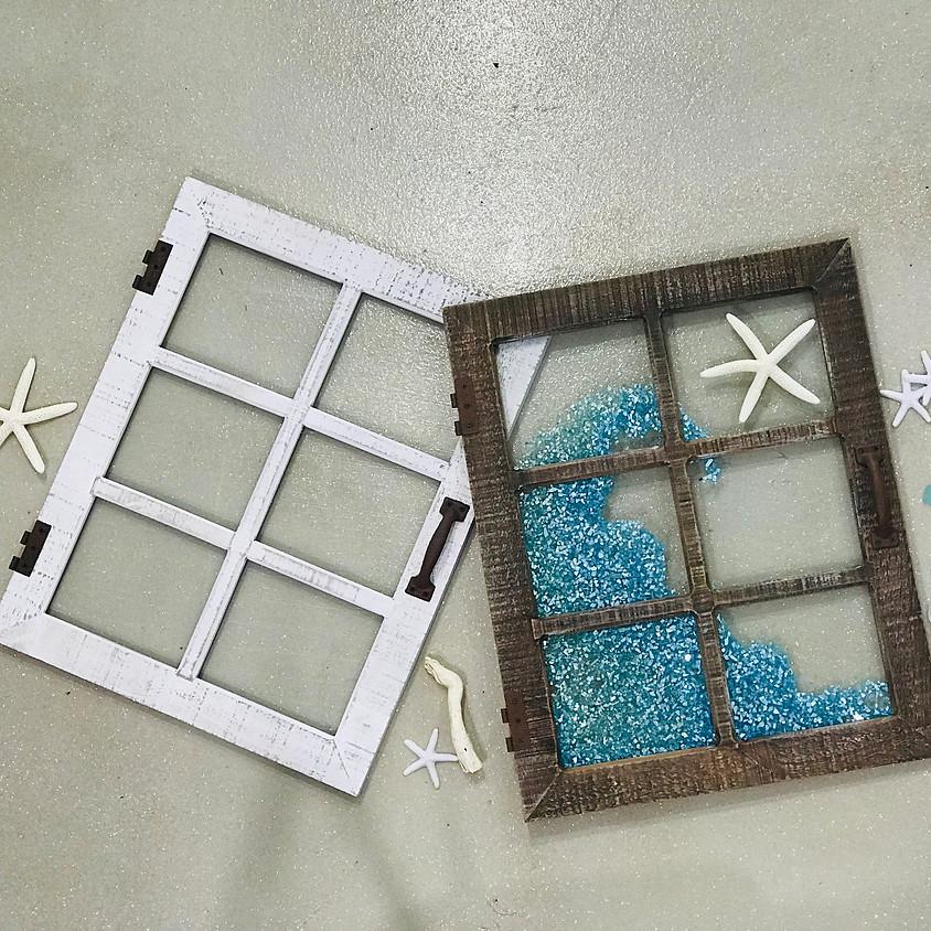 Resin Frame Decorating