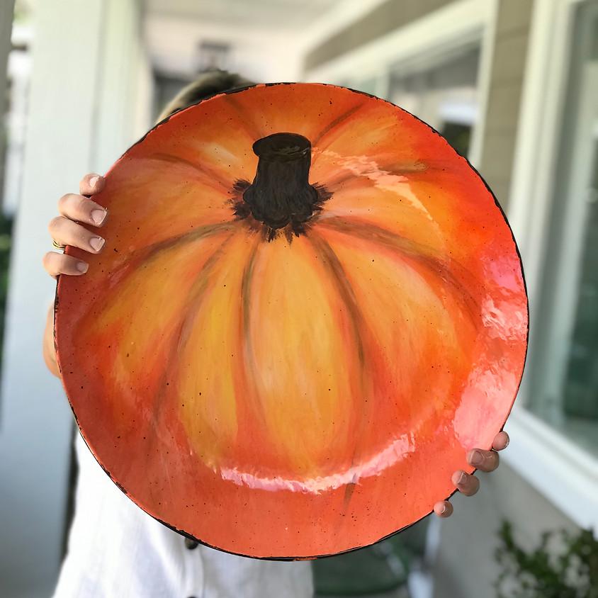 Pumpkin Platter Class
