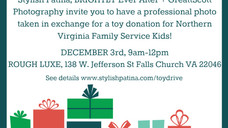 Marquee Love at the Merry & Luxe Holiday Charity Toy Drive
