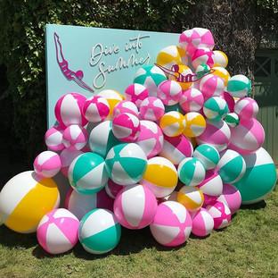Custom Beach Ball Installations
